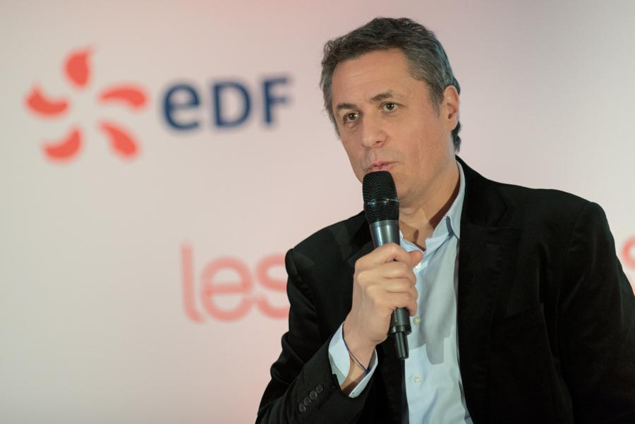 portrait d'un intervenant lors d'un séminaire de l'entreprise EDF