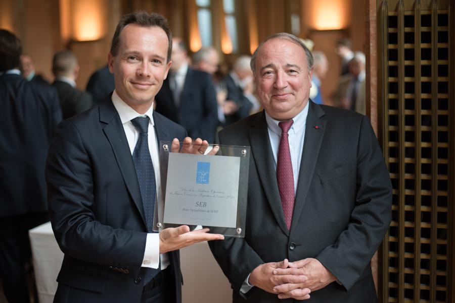 Photo du gagnant de la 18ème édition du Prix du Club des Trente