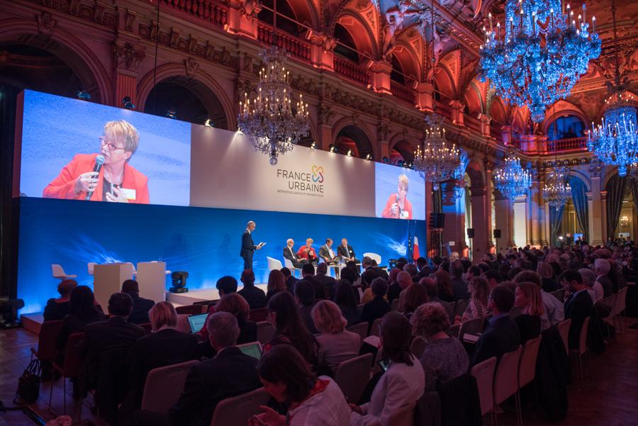 extrait de reportage réalisé durant la conférence des villes à Paris