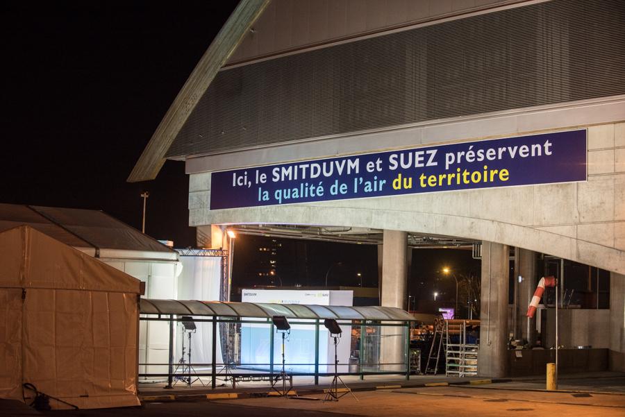 Suez inauguration d'un puits de carbone