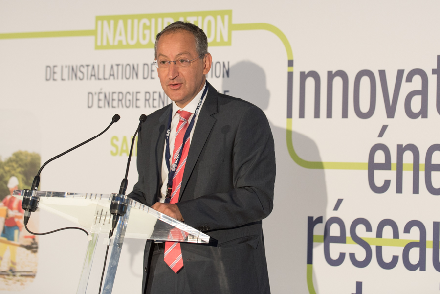 Suez : Inauguration de l'installation de production d'énergie renouvelable à Saint-Maximin