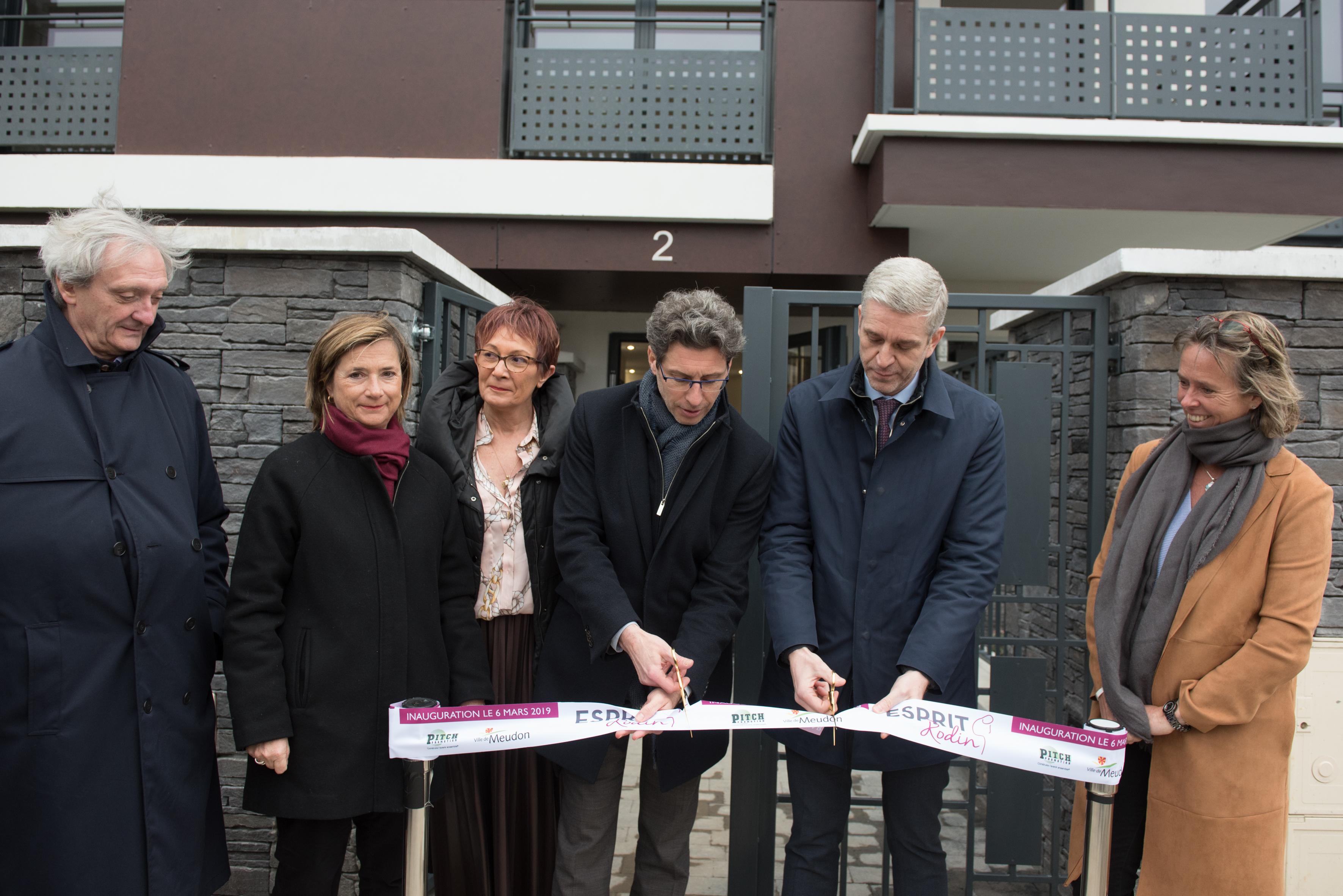 Pitch Promotion : inauguration de la résidence Esprit Rodin à Meudon