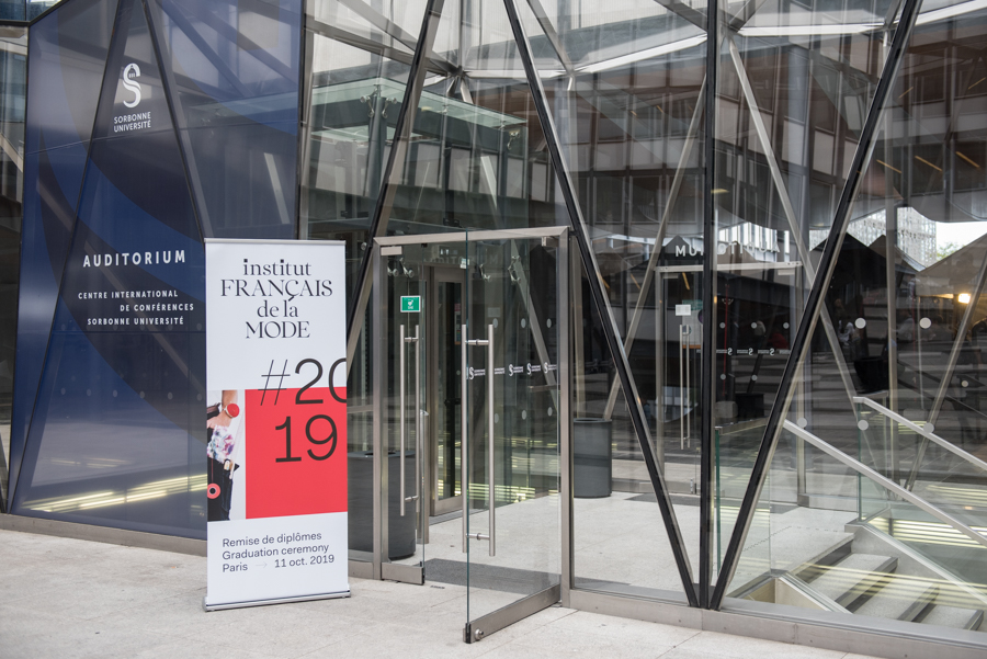 Institut Français de la Mode : remise de diplômes.