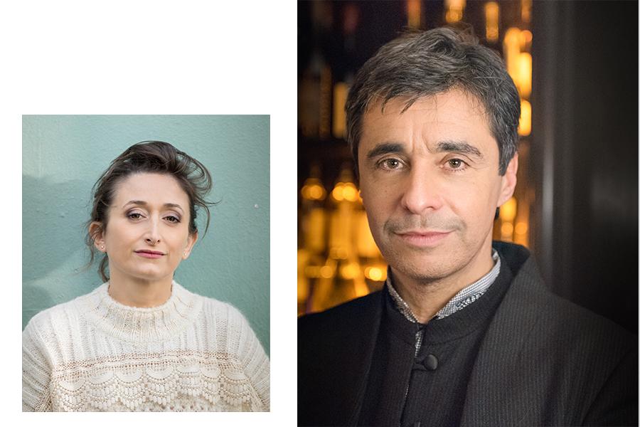 Jeanne Arènes & ariel wizman par sacha heron