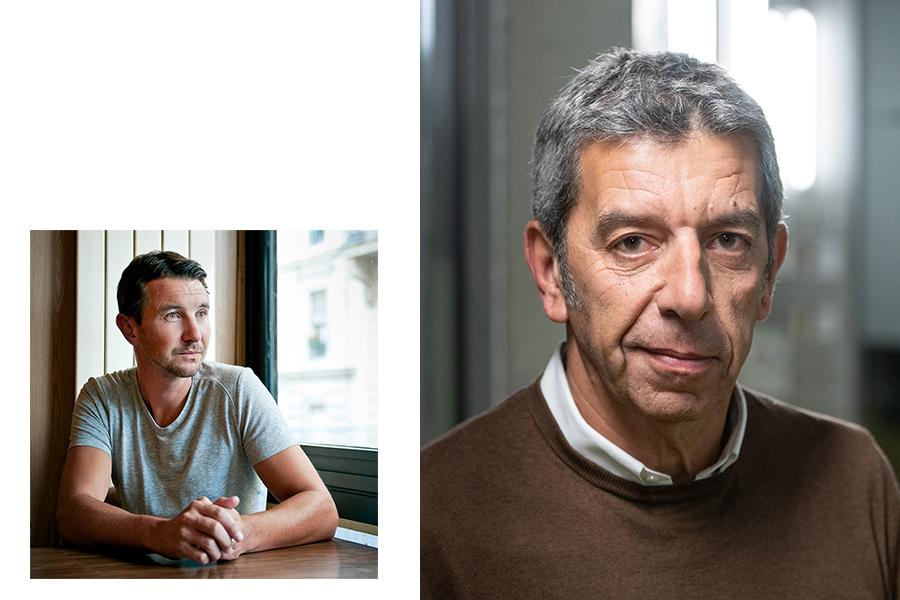 Olivier Besancenot & Michel Cymes par sacha heron