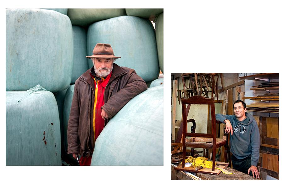 portraits artisants par sacha heron